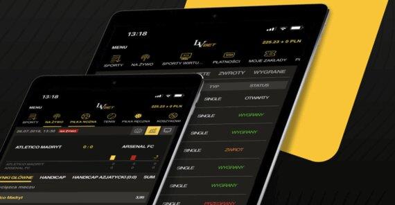 LVbet app na iOS